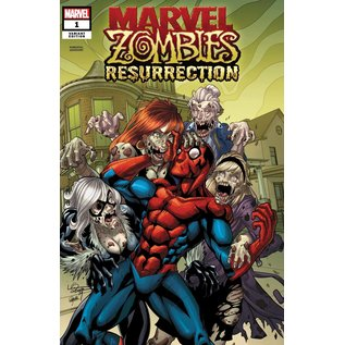 Marvel Comics Marvel Zombies Resurrection #1 (Of 4) Lubera Variant