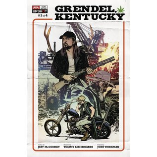 ARTISTS WRITERS & ARTISANS INC Grendel Ky #1 (Of 4) Cover A Edwards