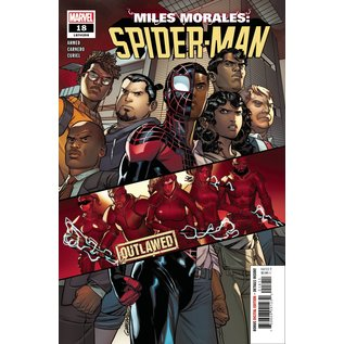 Marvel Comics Miles Morales Spider-Man #18 Out