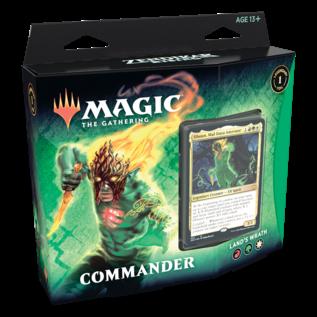 Wizards of the Coast Zendikar Rising Commander Deck - Land's Wrath