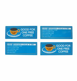 Free Coffee Card