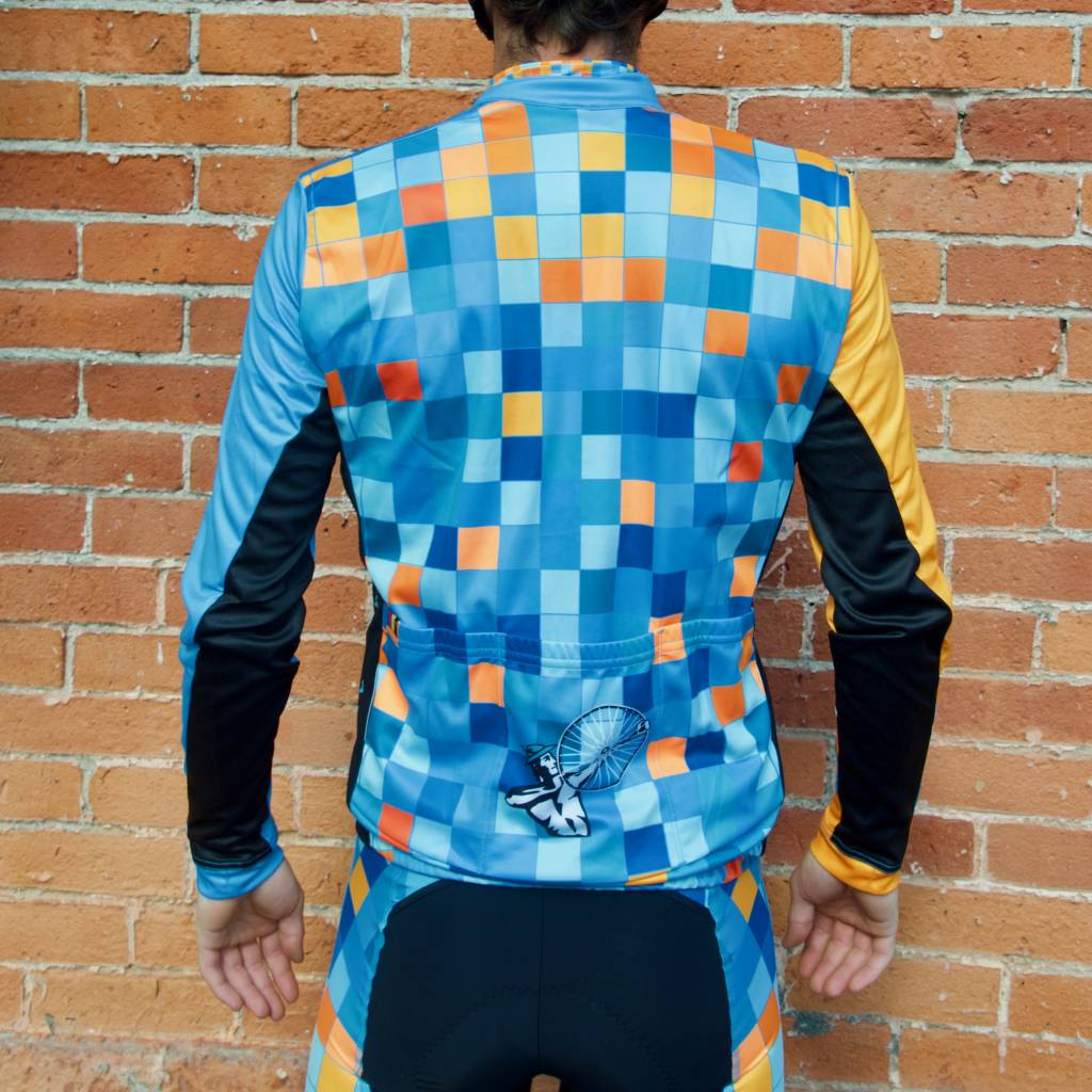 Pixel Men's Long Sleeve RBX Sport Jersey