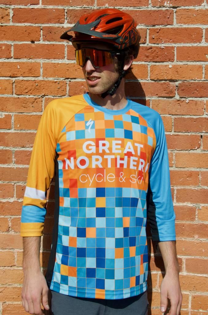 Pixel Enduro Sport 3/4 Jersey