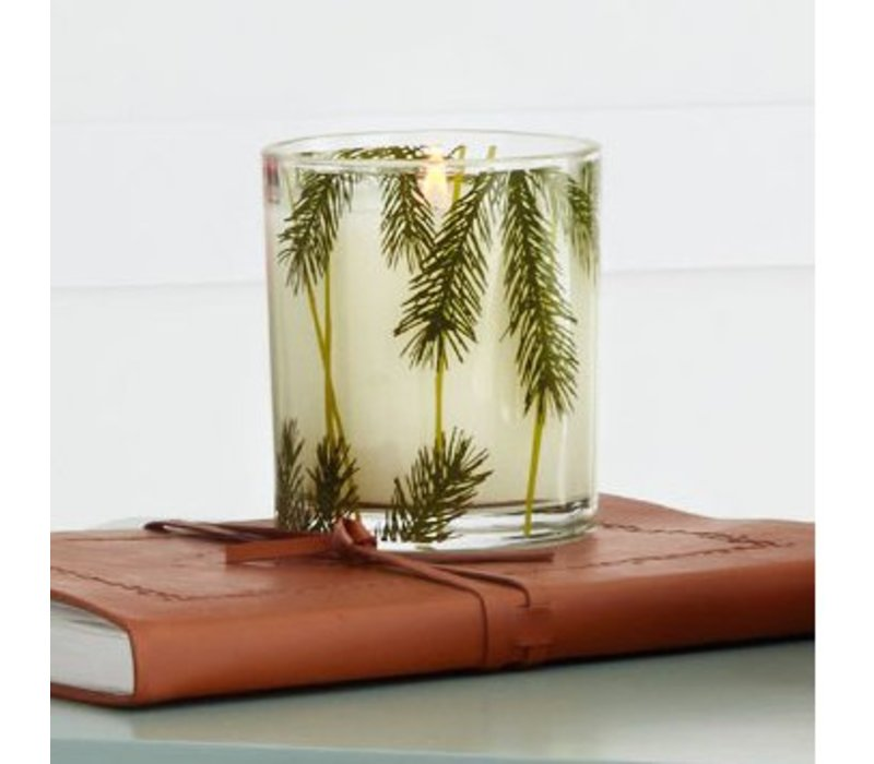 small pine needle frasier fir candle