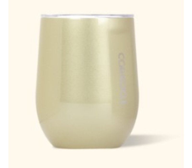 Corkcicle Stemless- 12oz Unicorn Glampagne