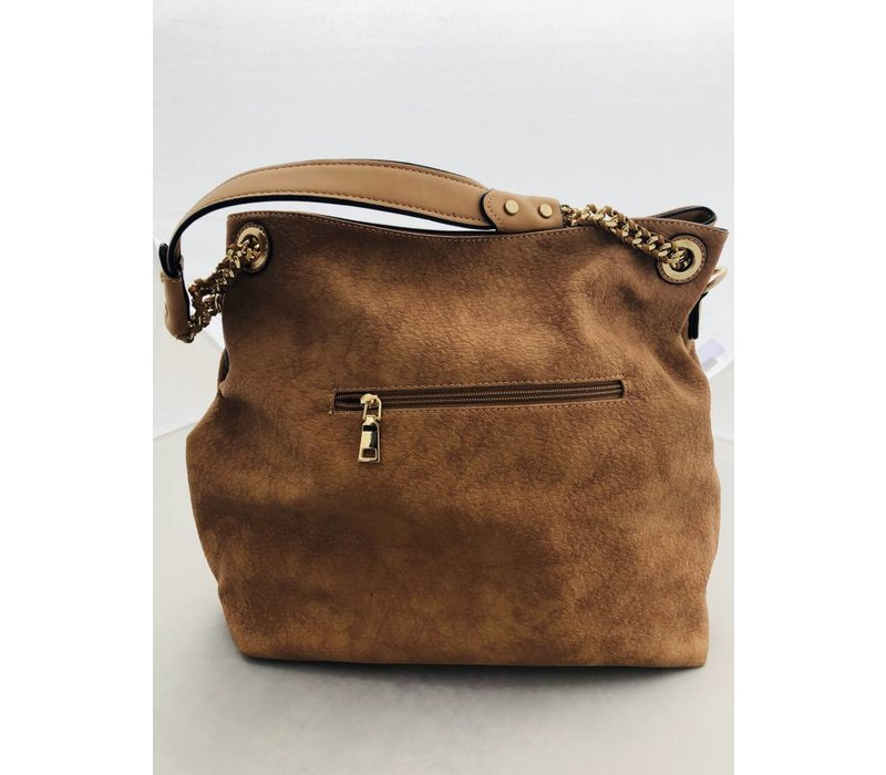 Large Brown Leather Purse (tote)