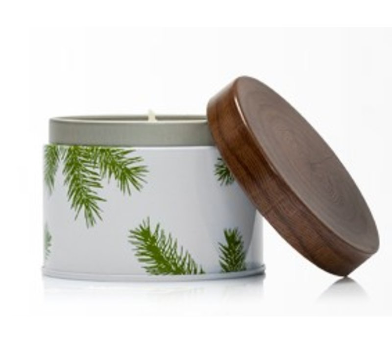 Fraiser Fir Candle with Pine Needle Case