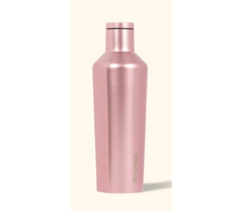 Corkcicle Canteen- 16 oz Rose Metallic