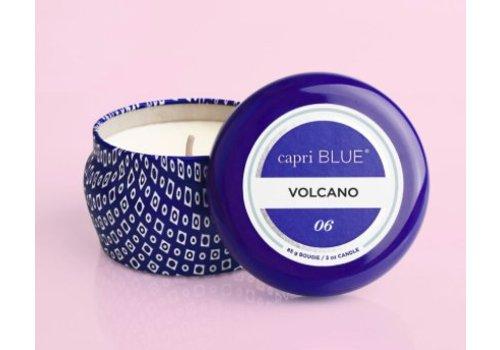 Capri Blue - Volcano, Printed Mini Tin- Blue