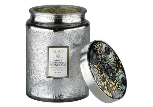 voluspa Valuspa White Currant & Alpine Lace Large Jar