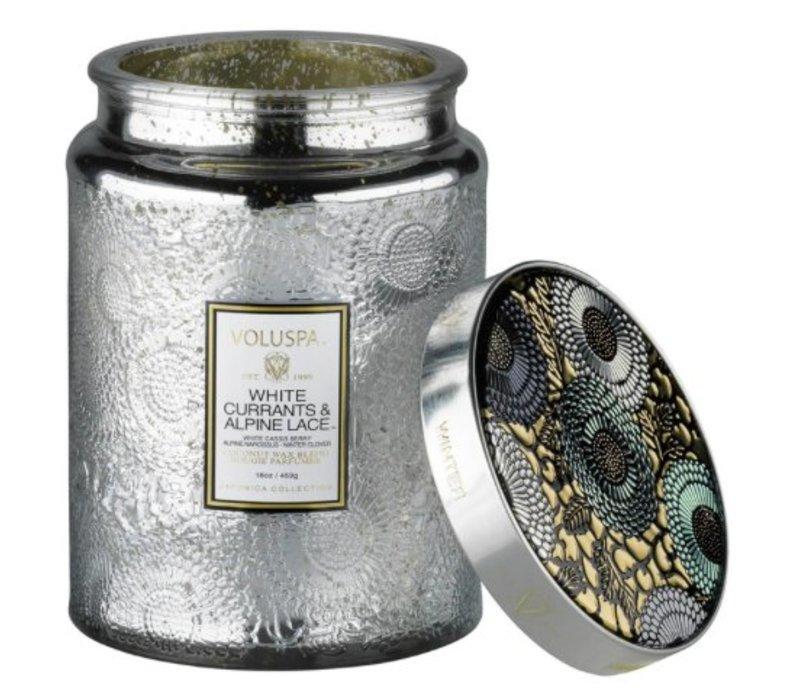 Valuspa White Currant & Alpine Lace Large Jar