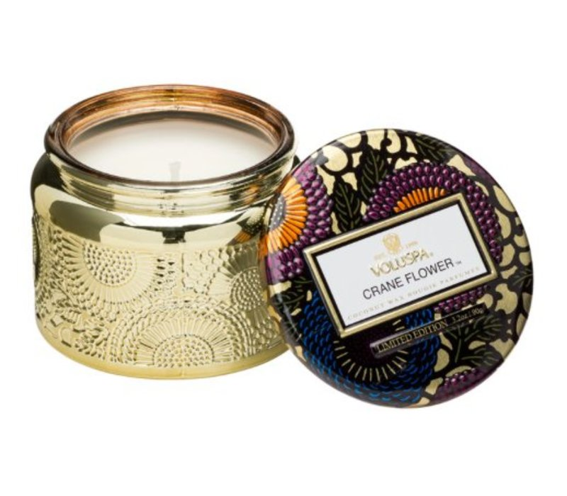 Voluspa - Crane Flower Small Jar Candle