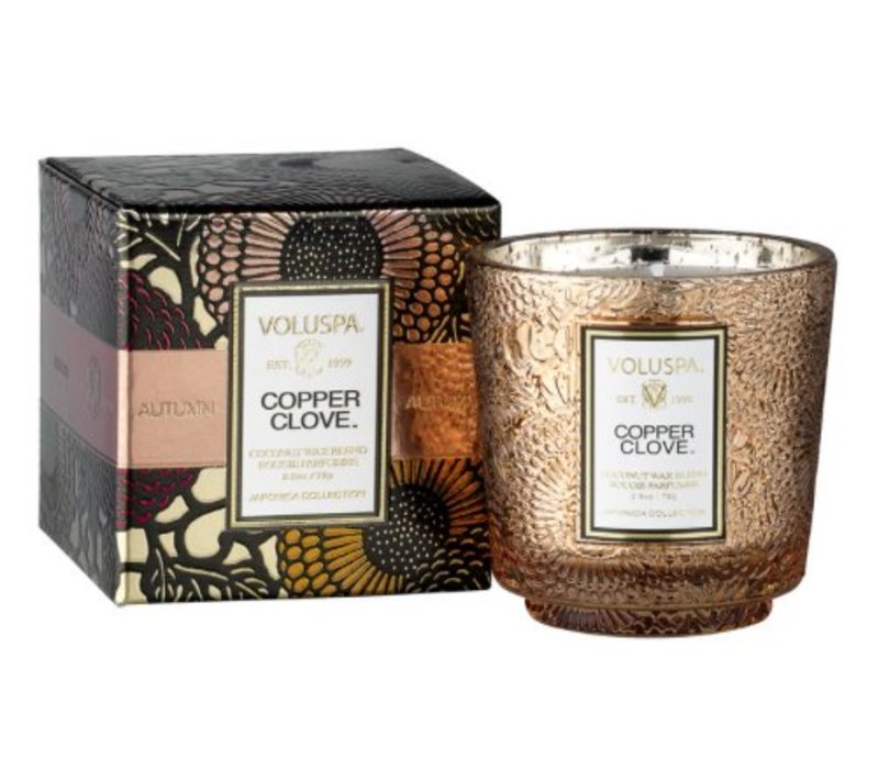 Voluspa - Copper Clove Boxed Mini Candle