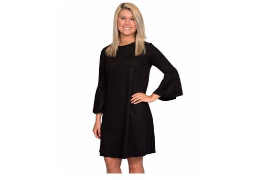 SIMPLY SOUTHERN Simply Southern Charlotte Dress in black