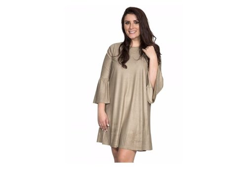 SIMPLY SOUTHERN Simply Southern Charlotte Dress in Camel