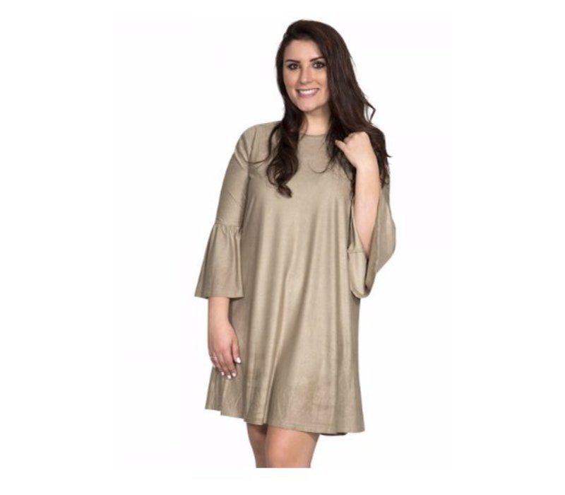 Simply Southern Charlotte Dress in Camel