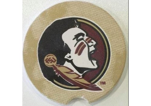 Florida State on Gold Car Coaster