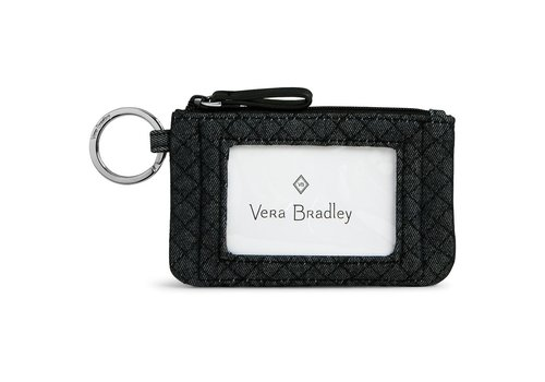 vera bradley Denim Navy Zip ID Case