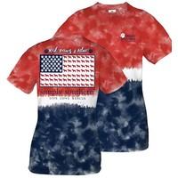 Preppy Paws America T-Shirt