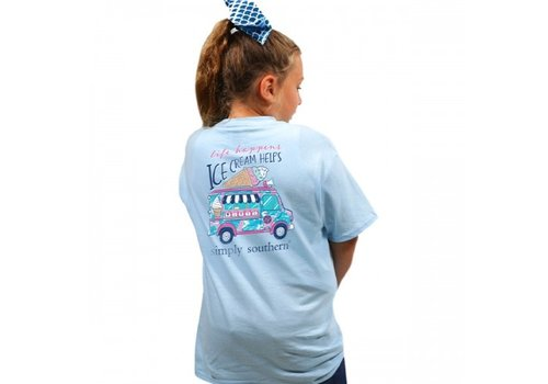SIMPLY SOUTHERN Preppy Ice Cream T-Shirt