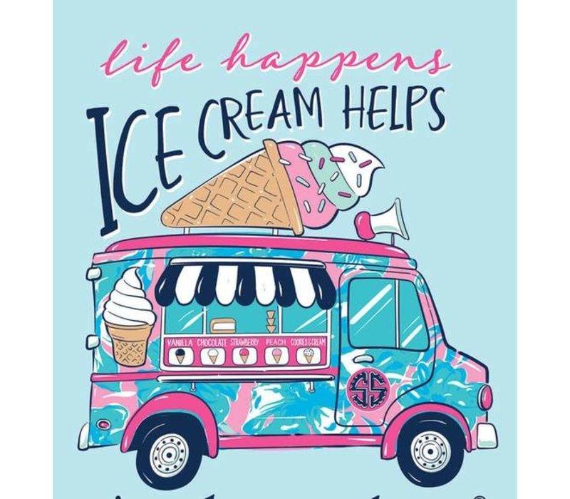 Preppy Ice Cream T-Shirt