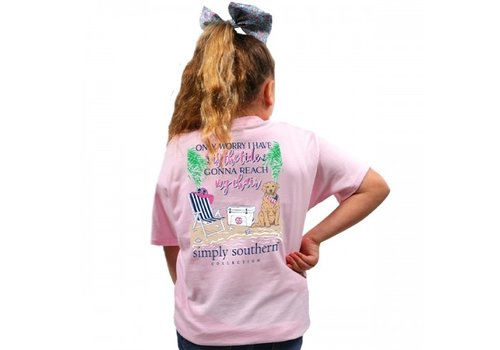 SIMPLY SOUTHERN Preppytide LuLu T-Shirt (Youth)