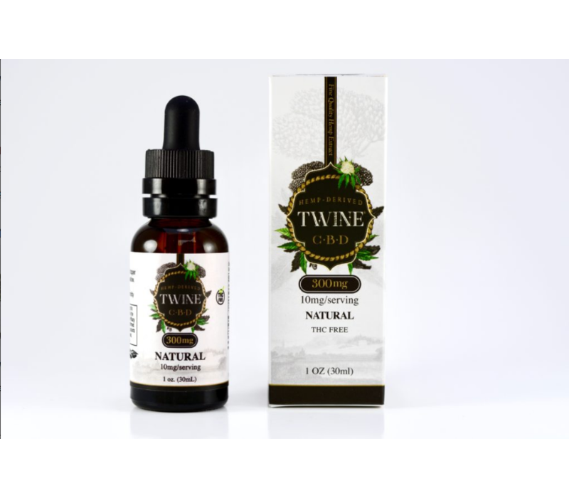 Natural CBD Oil- 300mg