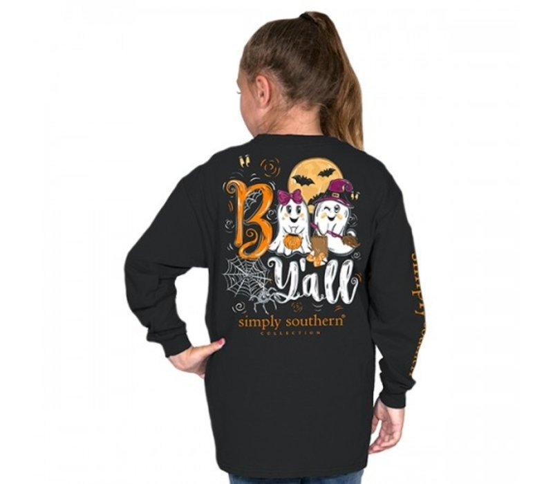 Boo Y'all- Youth Long-Sleeve