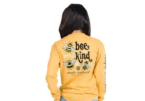 SIMPLY SOUTHERN Bee Kind- Long-Sleeve