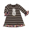 SIMPLY SOUTHERN Pineapple Dress/Tunic- Youth