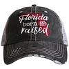 katydid Florida Born and Raised- Burnt Red- Hat