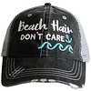 katydid Beach Hair Don't Care-Anchor-Hat