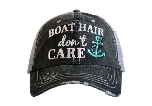 katydid Boat Hair Dont Care Hat