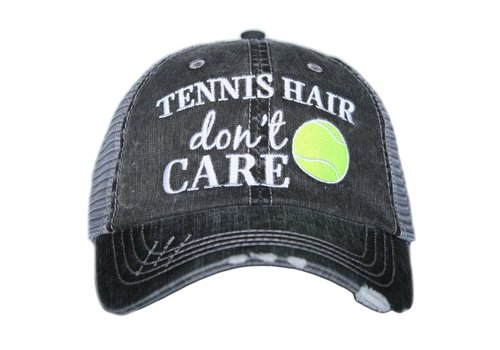 katydid Tennis Hair Don't Care- Hat