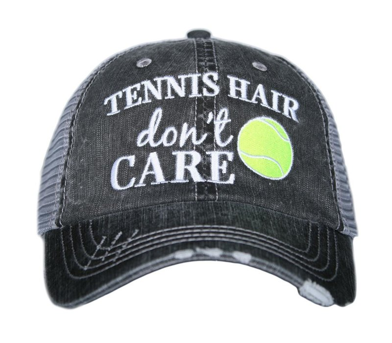 Tennis Hair Don't Care- Hat