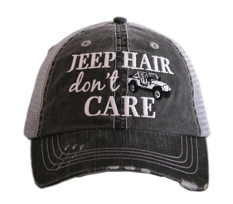 Jeep Hair Don't Care- Hat
