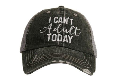 katydid I Can't Adult Today- Hat