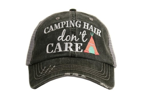 katydid Camping Hair Don't Care- Hat