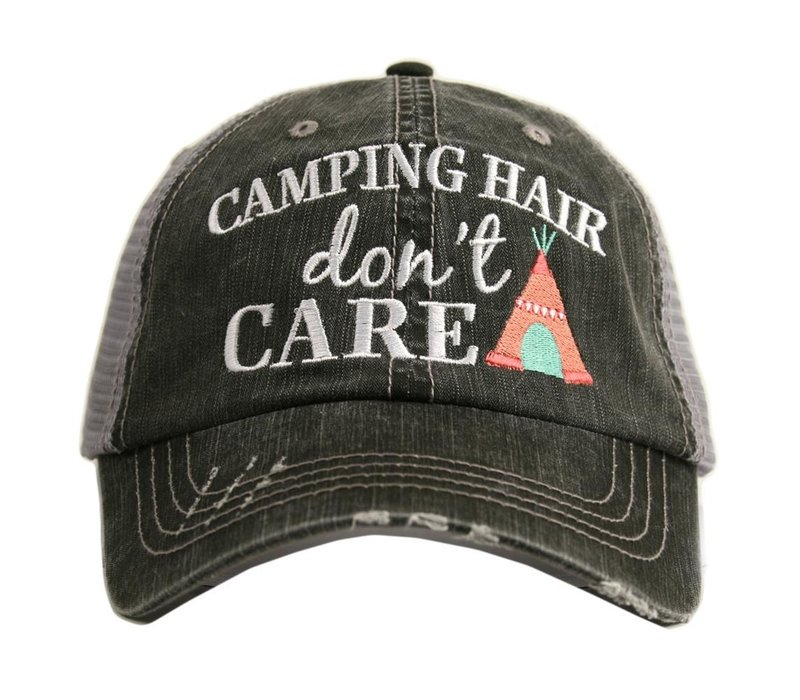 Camping Hair Don't Care- Hat