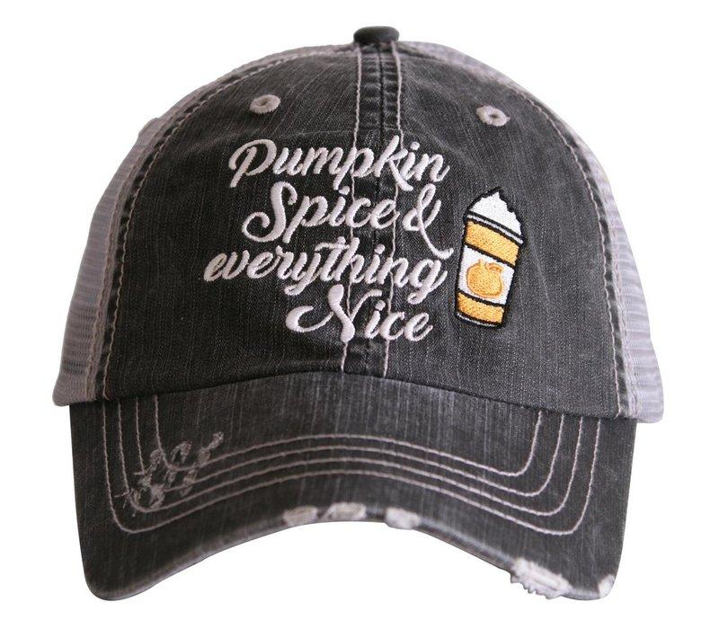 Pumpkin Spice & Nice- Hat