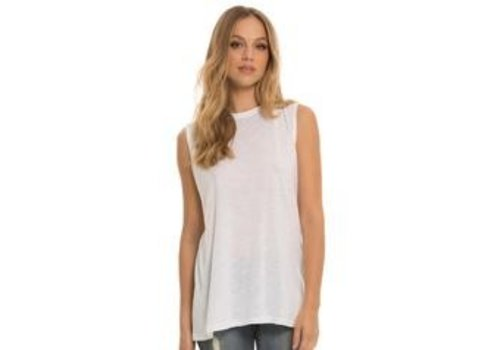 Split Back Tank Top