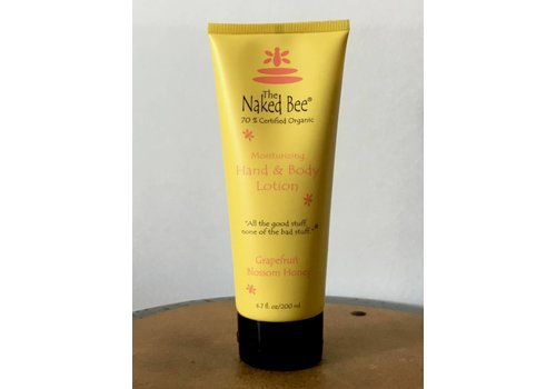 NAKED BEE Grapefruit Lotion, 6.7 oz