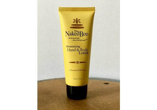 NAKED BEE Coconut & Honey Lotion, 2.25 oz