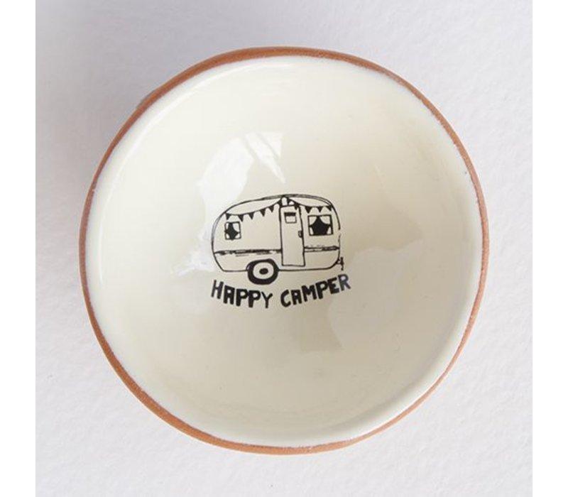 Happy Camper Tiny Trinket Dish