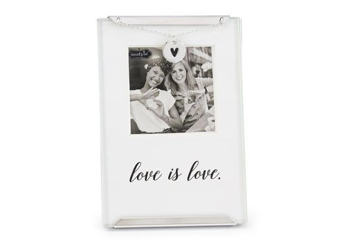 MUD PIE Love is Love clip frame