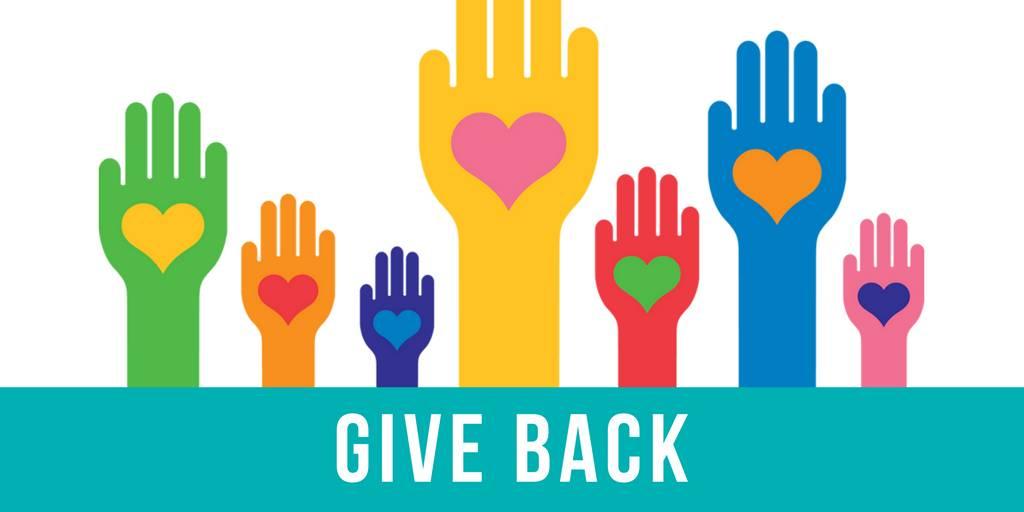 Giving Back!