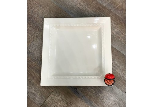 nora fleming Pearl Square Platter