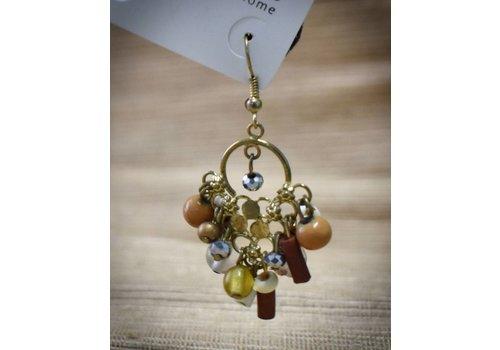 Multi Bead Earrings