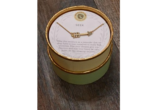 "SPARTINA Sea La Vie Necklace 18"" Seek/Arrow"