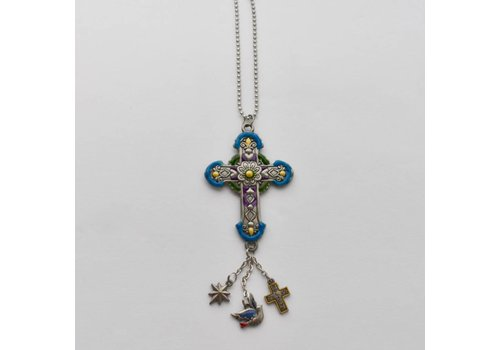 Car Charm Guiding Cross
